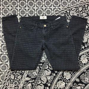 Current Elliott Polka Dot The Stiletto Jeans